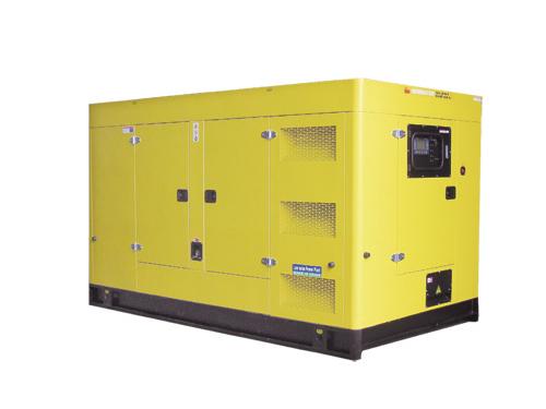 低噪音系列柴油机发电机组